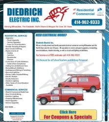 Diedrich Electric Inc Logo