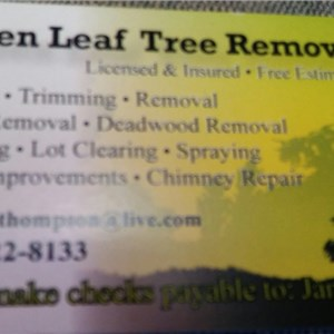 Greenleaf Tree Removal & Landscaping Logo