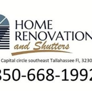Home Renovations & Shutters inc Logo
