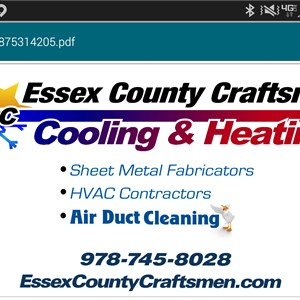 Essex County Craftsmen Logo