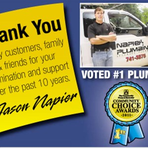 Jason Napier Plumbing Cover Photo