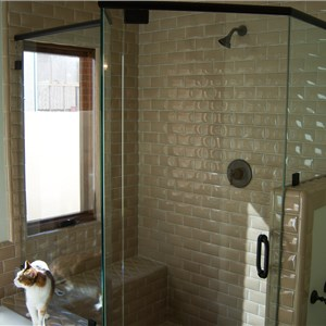 Greens Shower Door & Mirror Cover Photo
