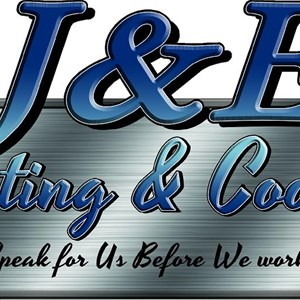 J & E Heating and Cooling, LLC Logo
