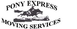 Pony Express Moving Services Logo