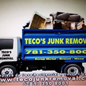 Teco Junk Removal Logo