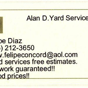 Alan D Yard Service Cover Photo