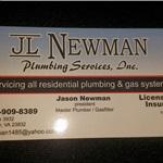 Jl Newman Plumbing Logo