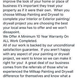 Millsap Painting and Drywall Logo