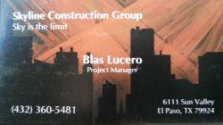 Skyline Construction Group Logo