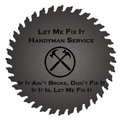 Let me fix it Handyman Service Logo