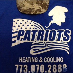 Patriots Heating & Cooling Logo