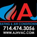 Aj Heating And Air Conditioning Logo