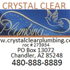 Crystal Clear Plumbing, LLC Logo