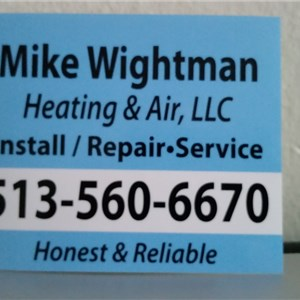 Mike Wightman Heating & Air LLC Logo