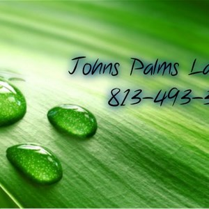 Johns Palms Landscaping Logo