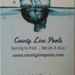 County Line Pools Logo