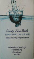 County Line Pools Logo