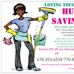 Loving Touch Cleaning Logo