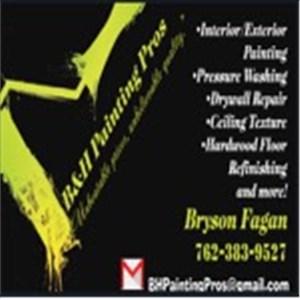 B&H Painting Pros Logo