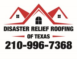 Disaster Relief Roofing Logo