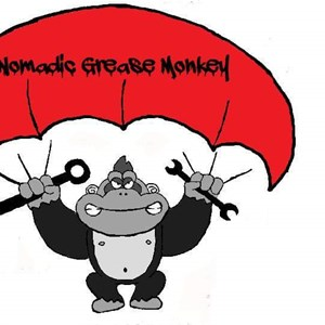 Nomadic Grease Monkey Logo