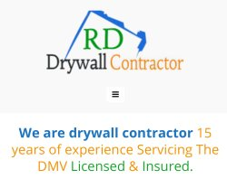 RD drywall contractor llc Logo