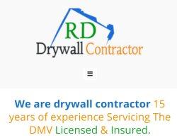 RD drywall contractor llc Logo