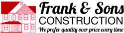 Frank & Sons Construction Logo