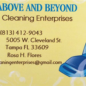 Above and beyond cleaning enterprises Logo