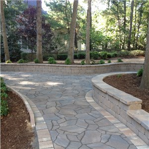 Stamped Concrete Driveways