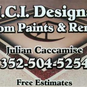 J.c.i. Custom Designs Logo