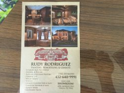 Rudy Rodriguez Painting & Remodeling & Logo