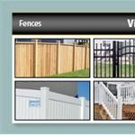 Upright Fences Downright Patio Logo