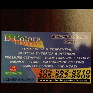 Dcolors Painting Inc Logo
