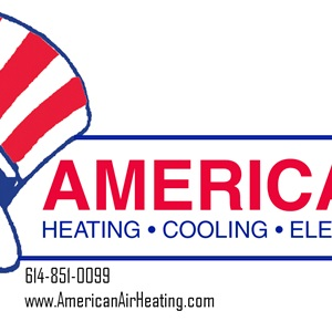 American Air Heating, Cooling, Electric, & Plumbing Logo