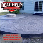 Real Help Decorative Concrete Logo
