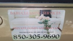 Babs Cleaning & Other Services Logo