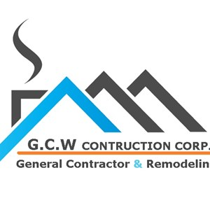 G.C.W Construction Corp Roofing - Siding Logo