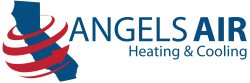 Angels Air Heating And Air Conditioning Logo