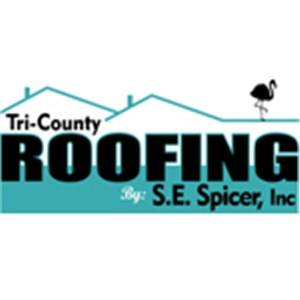 Tri-County Roofing by S.E.Spicer Inc. Logo