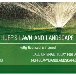Huffs Lawn & Landscapes LLC Logo