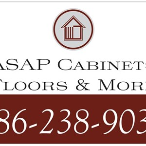 ASAP Cabinets Floors & More Logo