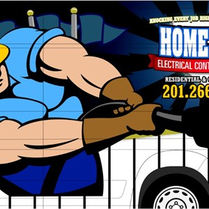 Home Run Electrical Logo