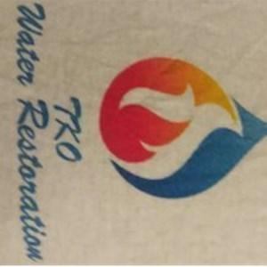 Tko Water Restoration Logo