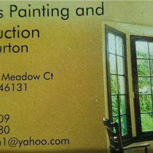 Burtons Painting Service Logo