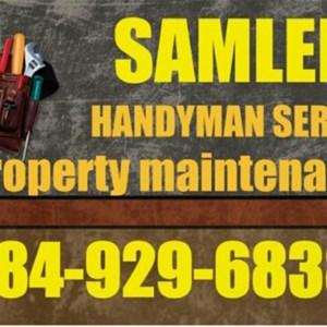 Samlers Handyman service Logo