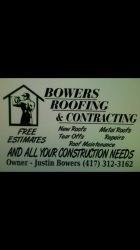 Bowers Roofing & Contracting Logo