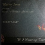 W F Painting Contractor Logo