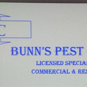 Bunns Pest Control Logo