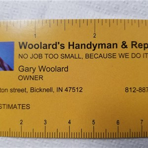 Woolards Handyman And Repair Logo